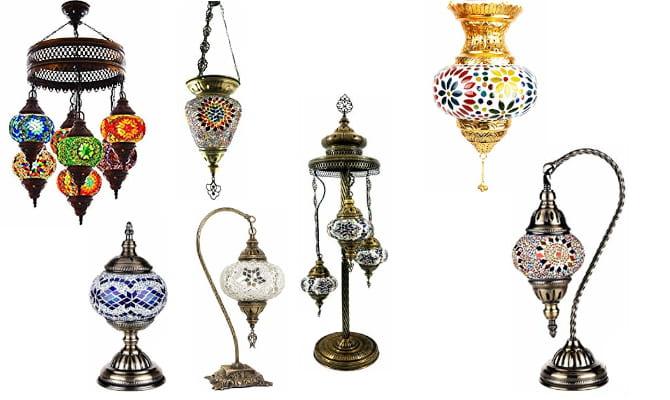Catalogo de venta de lamparas turcas